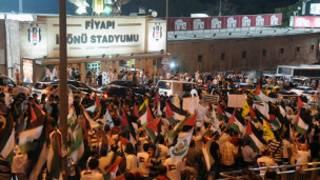 مظاهرات في اسطنبول
