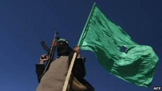 Militante do Hamas/AFP