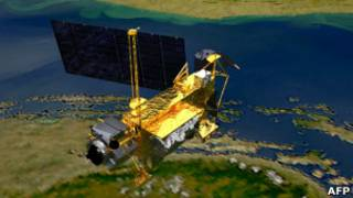 El satélite UARS