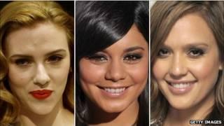 Scarlett Johansson, Vanessa Hudgens và Jessica Alba