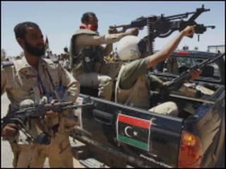 Dakarun 'yan tawayen Libya