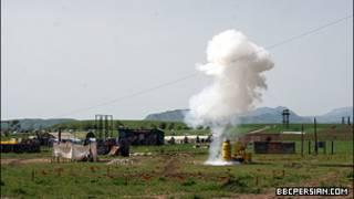 تمرینات نظامی در لاهور