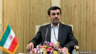احمدی نژاد در فرودگاه