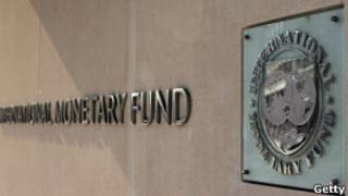 A sede do FMI em Washington, onde os países se reunirão (Getty Images)