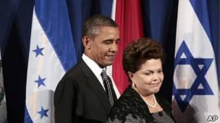 Obama e Dilma em Nova York. Foto: AP