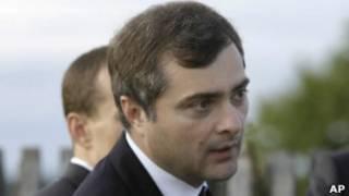 Владислав Сурков на пресс-конференции