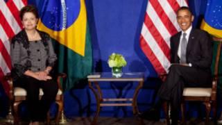 Dilma e Obama, em encontro em NY em setembro de 2011 (Getty)