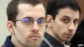 Americanos Shane Bauer e Josh Fattal (AFP)