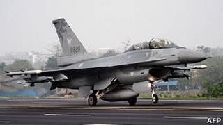 台湾空军F16战机