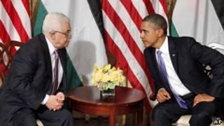 اوباما و عباس