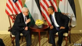 Mahmoud Abbas e Barack Obama