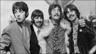 甲壳虫乐队成员1967年在经理人家里