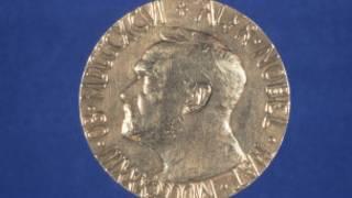 A medalha do Prêmio Nobel (Divulgação/ Comitê do Prêmio Nobel)