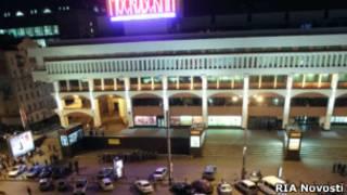 Оцепление у Ярославского вокзала из-за угрозы взрыва