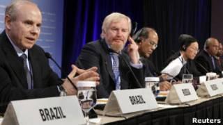 Ministros das Finanças dos Brics. Reuters