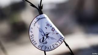 نمادی از کشور مستقل فلسطینی