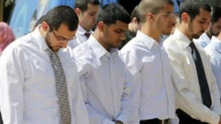 طلبة مسلمون
