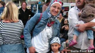 Hanin Shatara. Foto Guila Flint.BBC