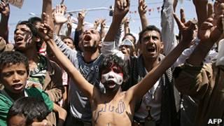 معترضان مخالف دولت یمن
