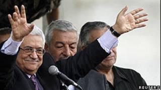 Abbas na Cisjordânia/Reuters