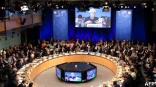 Во время заседания МВФ в Вашингтоне