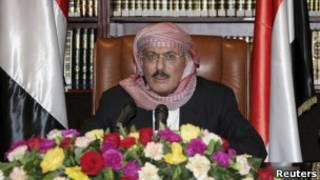 الرئيس اليمني عبد الله صالح