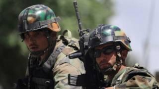 کماندوهای افغان