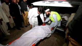 पाकिस्तान में बस दुर्घटना
