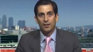 Alessio Rastani, durante entrevista à BBC