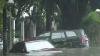 من آثار الإعصار في الفلبين