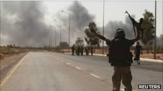Бои в ливийском городе Сирт