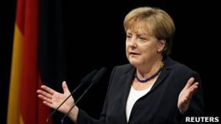 O chanceler Angela Merkel