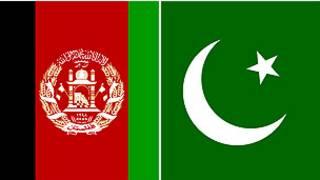 پرچم های افغانستان و پاکستان