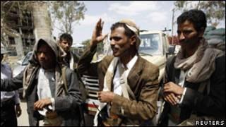 رجال قبائل يمنيين