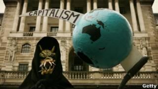 Manifestação anticapitalista