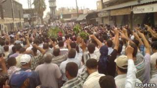 Протесты в провинции Хомс