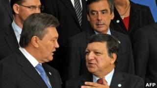 """Президент Янукович був змушений відповідати на """"незручні"""" запитання європейських чиновниківщодо долі Юлії Тимошенко"""