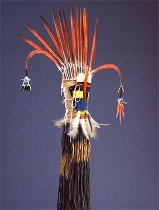 Adereço indígena (Foto: © MAS Etnografische verzamelingen-Foto Hugo Maertens)