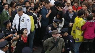 احتجاجات نيويورك