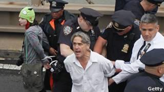 Uno de los arrestados en Nueva York