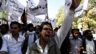 تظاهرات روز یکشنبه در کابل