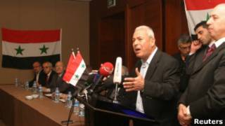 احدى لقاءات المجلس الوطني السوري المعارض