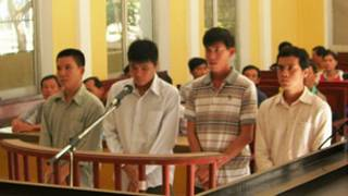 Phiên tòa xử các cán bộ công an tỉnh Sóc Trăng