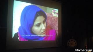 صحنه ای از یک فیلم در جشنواره پائیزی