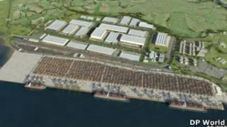 مشروع ميناء بوابة لندن