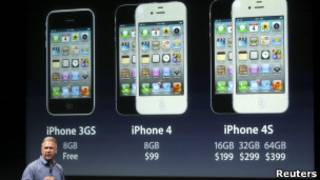 Lançamento do Iphone 4S. Reuters