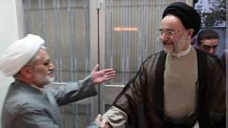 محمد خاتمی و عبدالله نوری