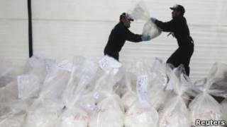 Мешки с кокаином в Латинской Америке