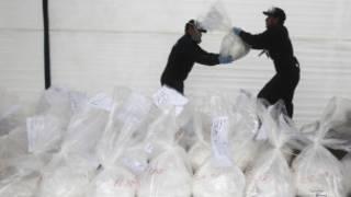 Apreensão de cocaína | Foto: Reuters