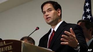 Senador Marco Rubio. AP